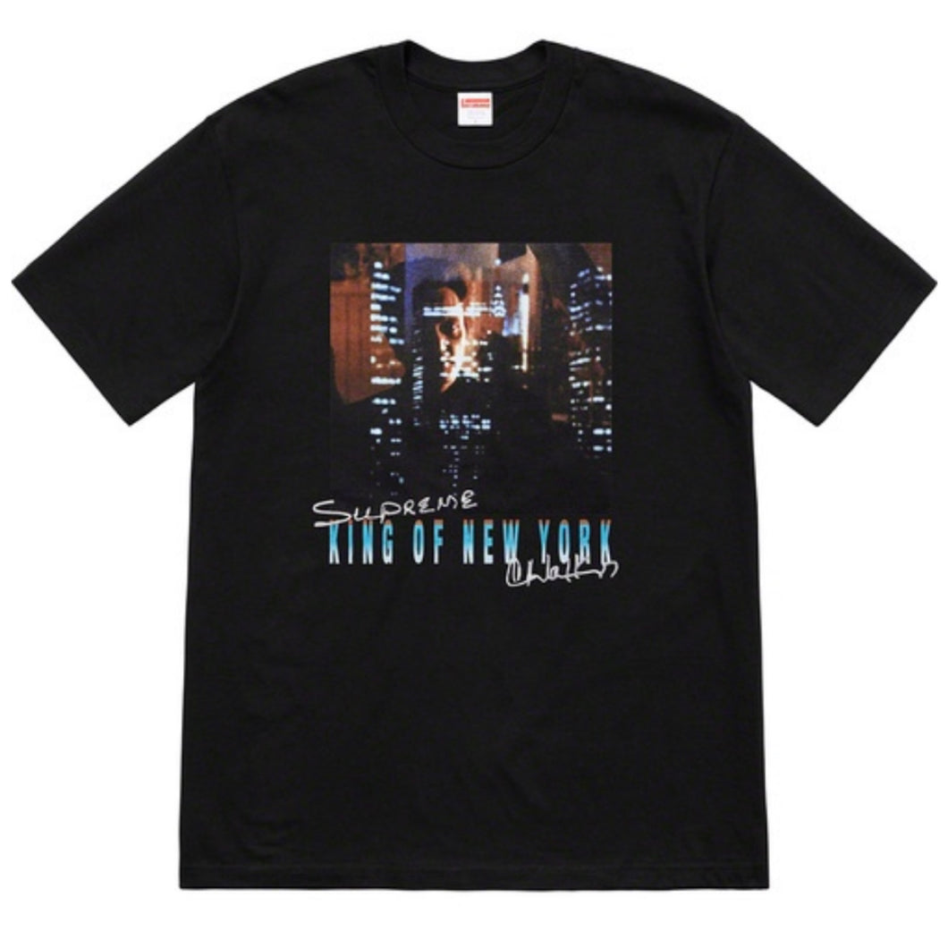 Supreme SS19 King Of New York Tee - Black