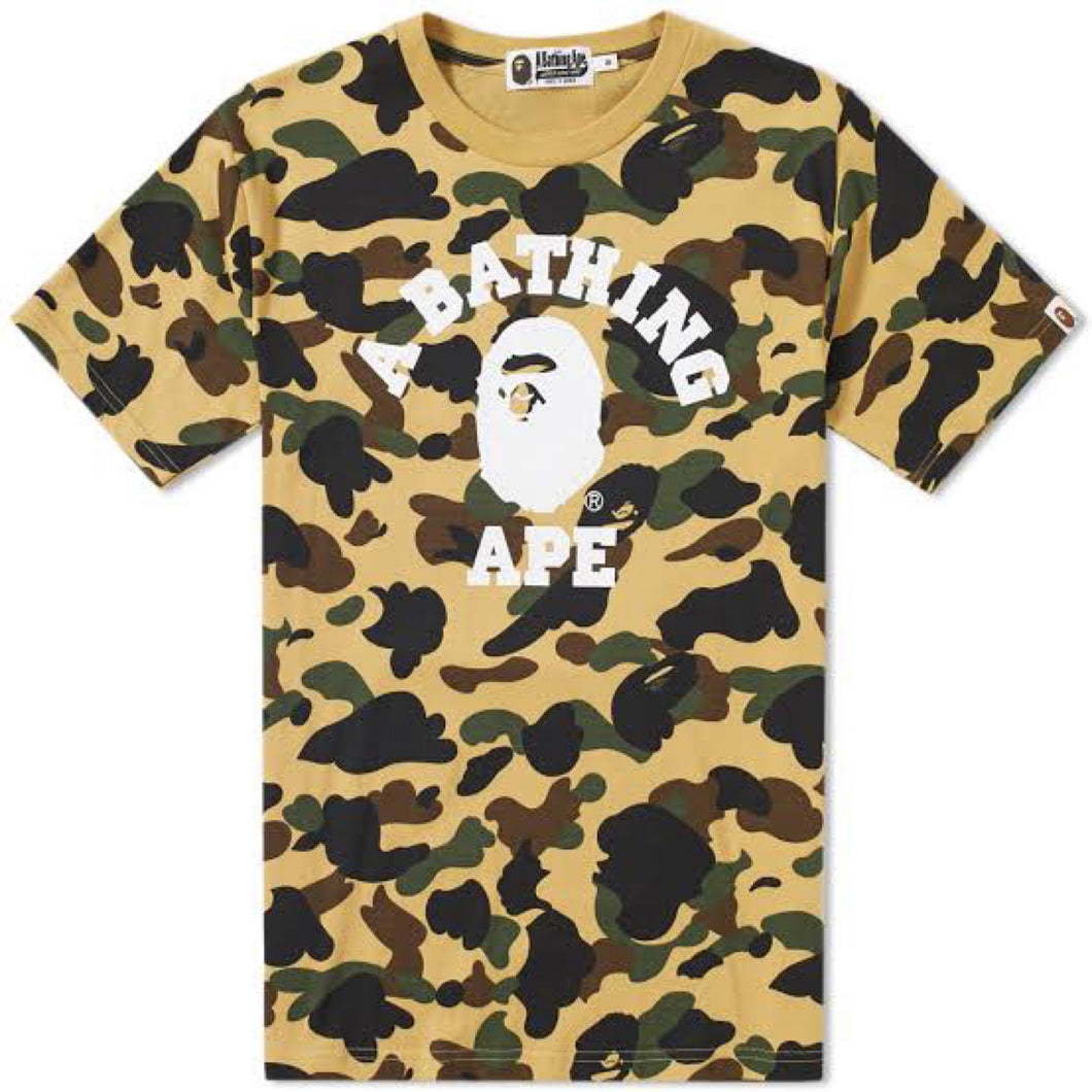 A Bathing Ape 1st Camo College T-Shirt
