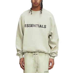 FEAR OF GOD ESSENTIALS 3D Silicon Applique Crewneck - Sage