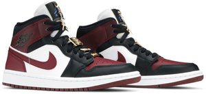 Air Jordan 1 Mid SE 'Gold Pendants' (Women's)