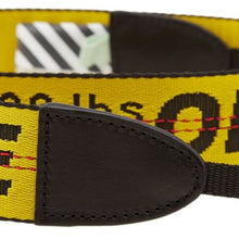 Off-White Industrial Camera Strap Yellow