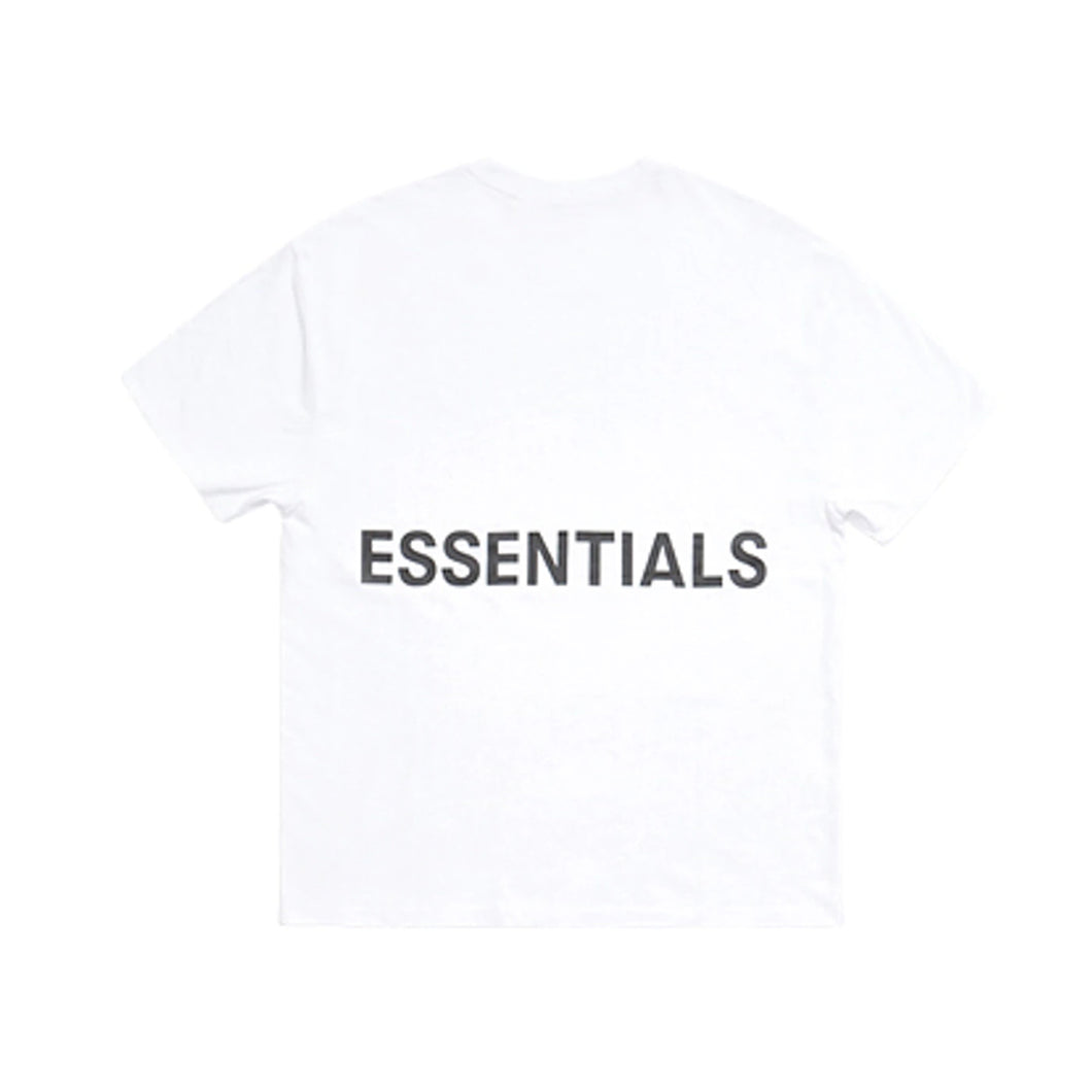 FEAR OF GOD ESSENTIALS Boxy Graphic Tee - White
