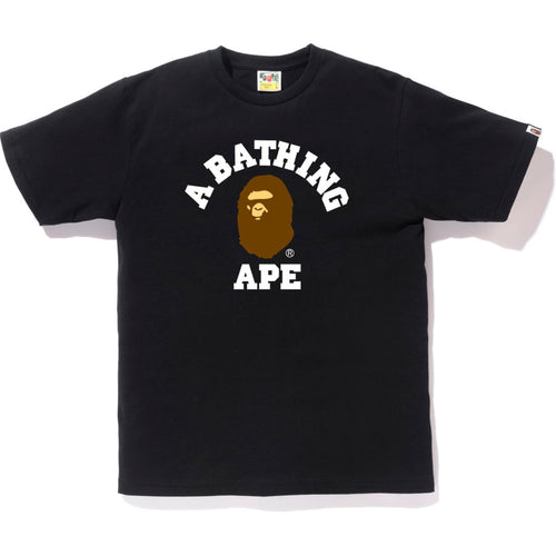 A Bathing Ape College T-Shirt Black