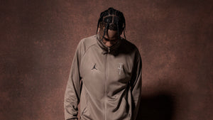Travis Scott MJ Track Jacket Palomino