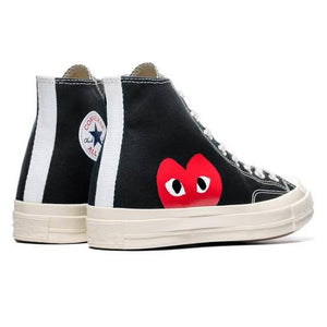 Converse x CDG Play Converse Chuck '70 High - Black