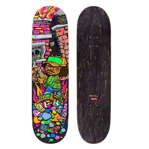 Supreme SS19 Molotov Kid Skateboard Black