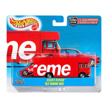 Supreme SS19 Hot Wheels Fleet Flyer + 1992 BMW M3 Red