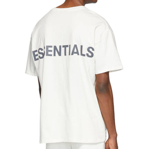 Fear of God Essentials Reflective 3M Boxy Tee - White