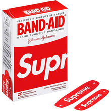 Supreme x Band Aid Adhesive Bandages Red