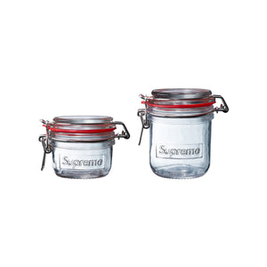 Supreme SS18 Jars (Set of 2) Clear