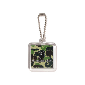 Bape 1st Camo World Gone Mad Keychain