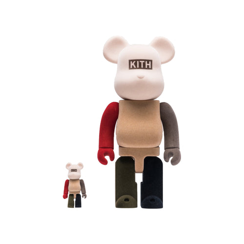 Kith x BEARBRICK 100% & 400% Pack Multi
