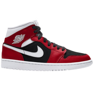 Air Jordan 1 Mid 'Gym Red Black' (Women's)