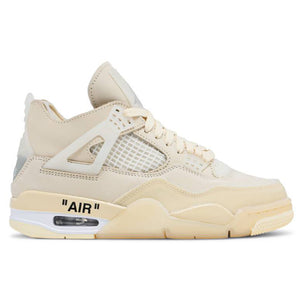 Off-White x Nike Air Jordan 4 'Sail' (Women's)