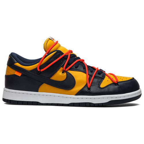 OFF-WHITE x Nike Dunk Low 'University Gold Midnight Navy'