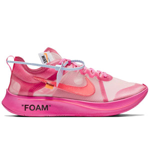 Off-White x Nike Zoom Fly 'Tulip Pink'