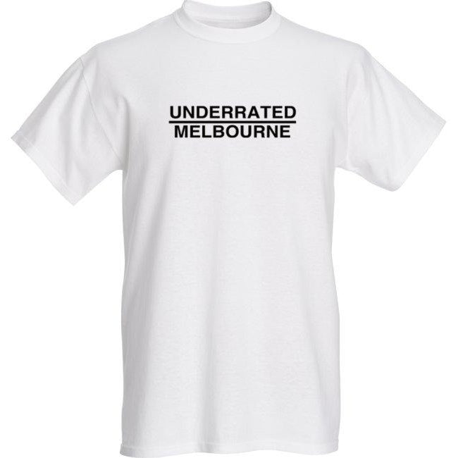 Underrated Melbourne 'LAUNCH' Tee