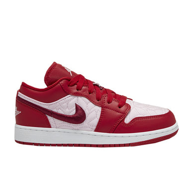 Air Jordan 1 Low SE GS 'Red Quilt' (Youth)