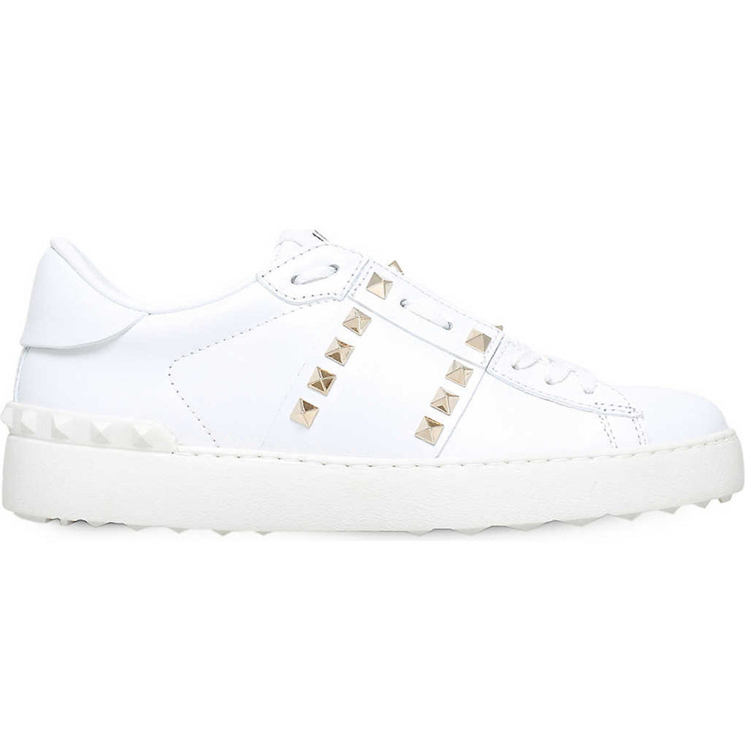 Valentino Rockstud Untitled Low-Top Trainer