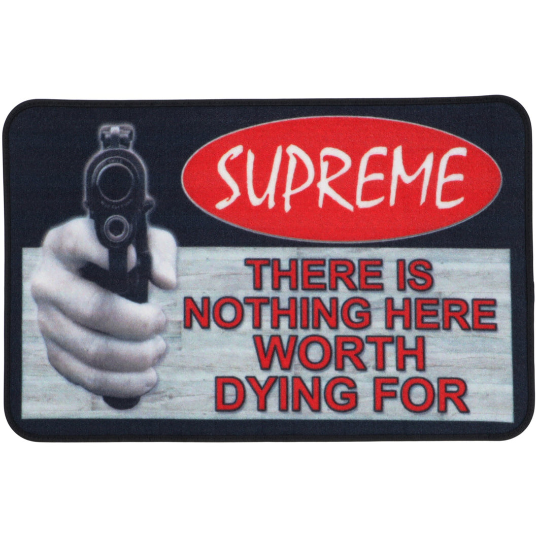 Supreme Welcome Mat Multicolor