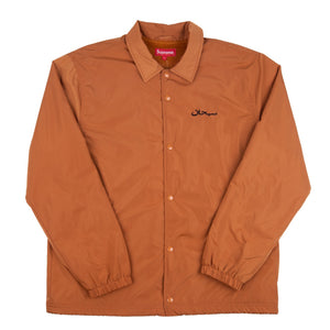 Supreme Arabic Logo Coach Jacket - Brown