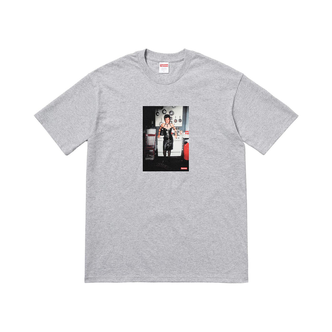 Supreme Nan Goldin Nan As A Dominatrix Tee - Heather Grey