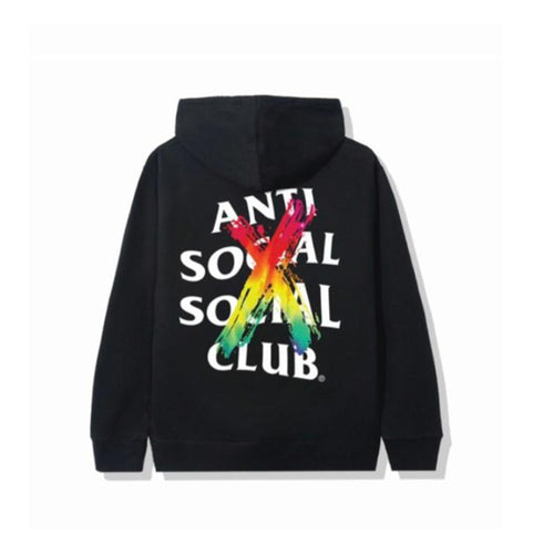 ASSC 'Cancelled Rainbow' Hoodie - Black