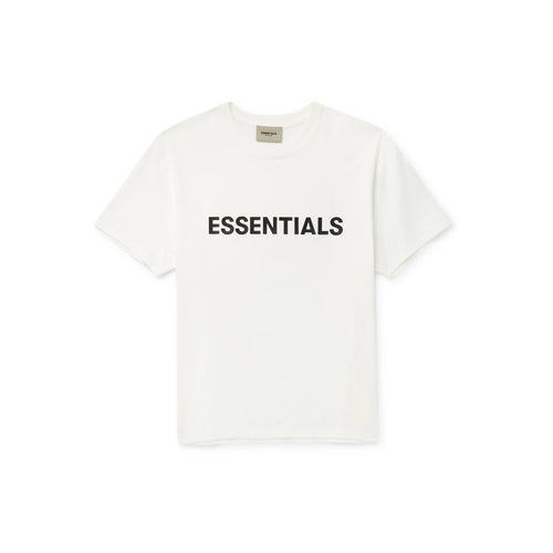 FEAR OF GOD ESSENTIALS 3D Silicon Applique Boxy T-Shirt - White