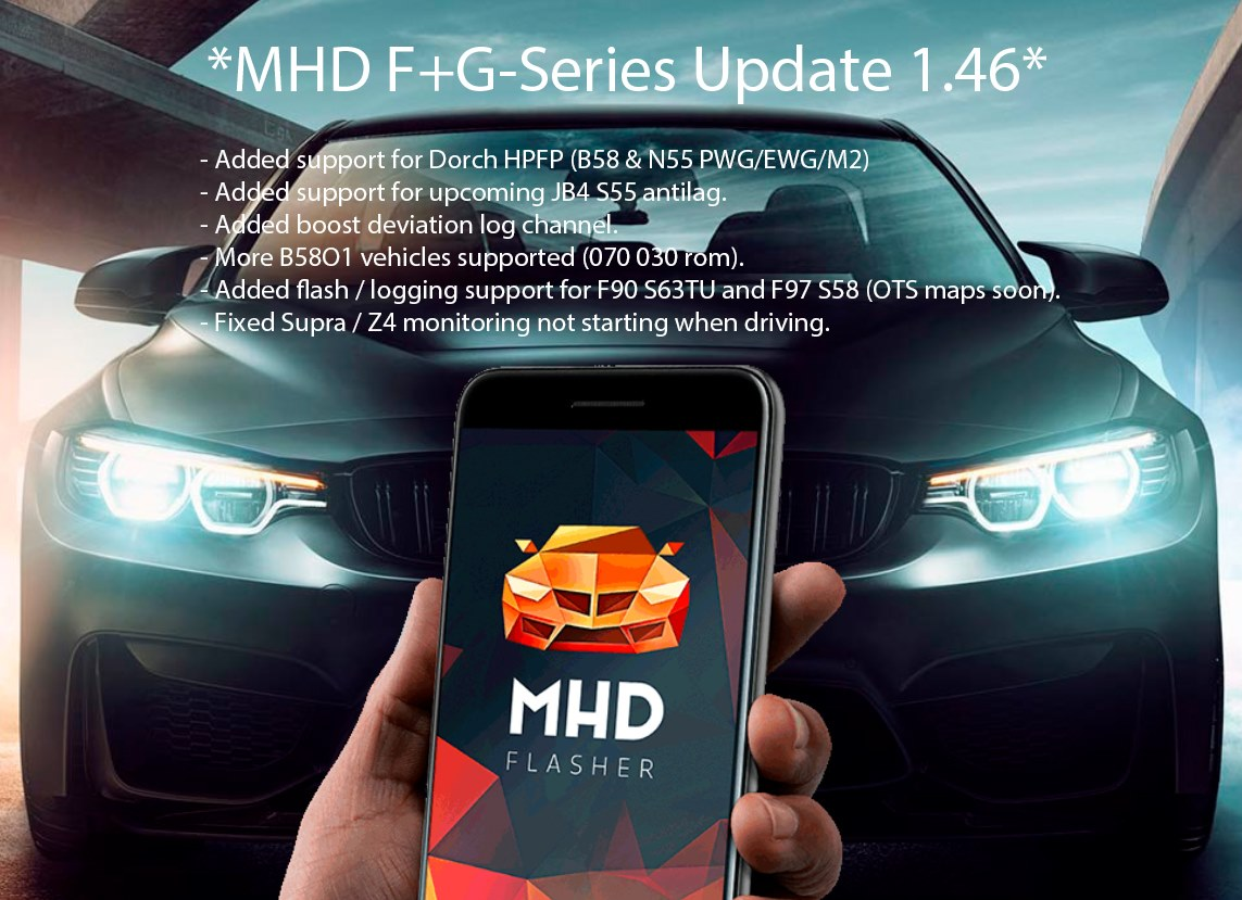 MHD F/G Series Update 1.46