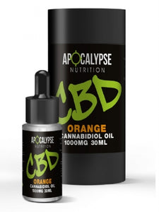 Apocalypse Nutrition CBD Oil 1000mg Oral Drops - 30ml
