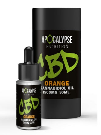 Apocalypse Nutrition CBD Oil 1500mg Oral Drops - 30ml