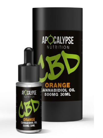 Apocalypse Nutrition CBD Oil 500mg Oral Drops - 30ml