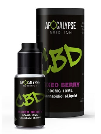 Apocalypse Nutrition CBD eLiquid Vape Oil 300mg - 10ml