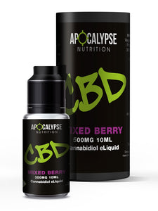 Apocalypse Nutrition CBD eLiquid Vape Oil 500mg - 10ml
