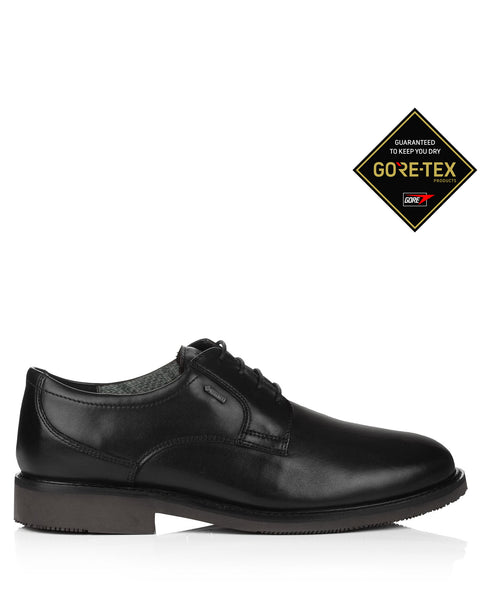 Anton 32007 Gore Tex Black Leather Shoes