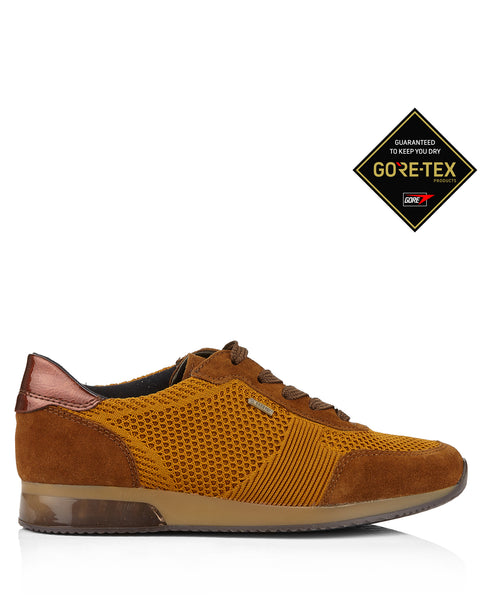 Lissabon 24082 Tan Gore Tex Trainers