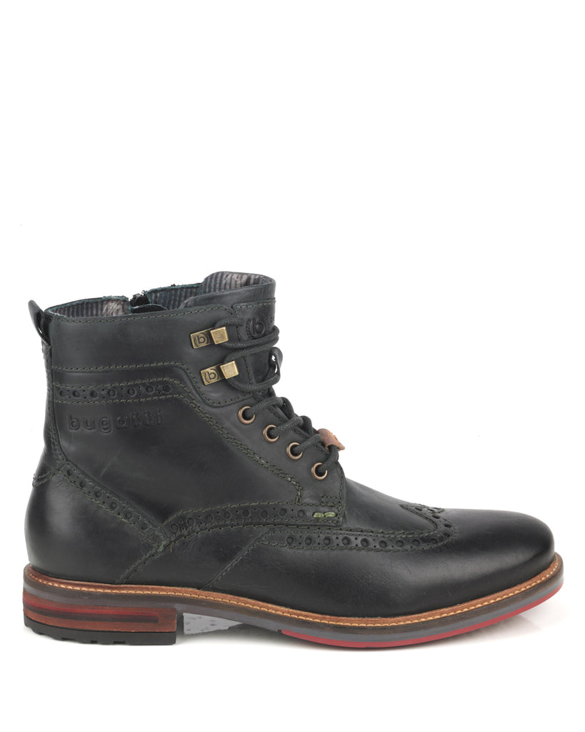 Marcello 1000 Grey Leather Boot
