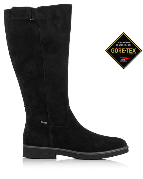Legero Soana 9688 Black Gore-Tex Knee High Boot