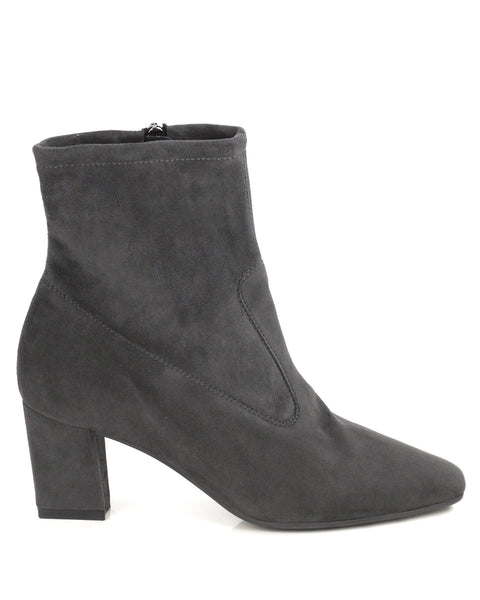 Konsa Grey Suede Ankle Boot