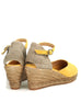 Lloret 5 Yellow Suede Wedge Espadrille