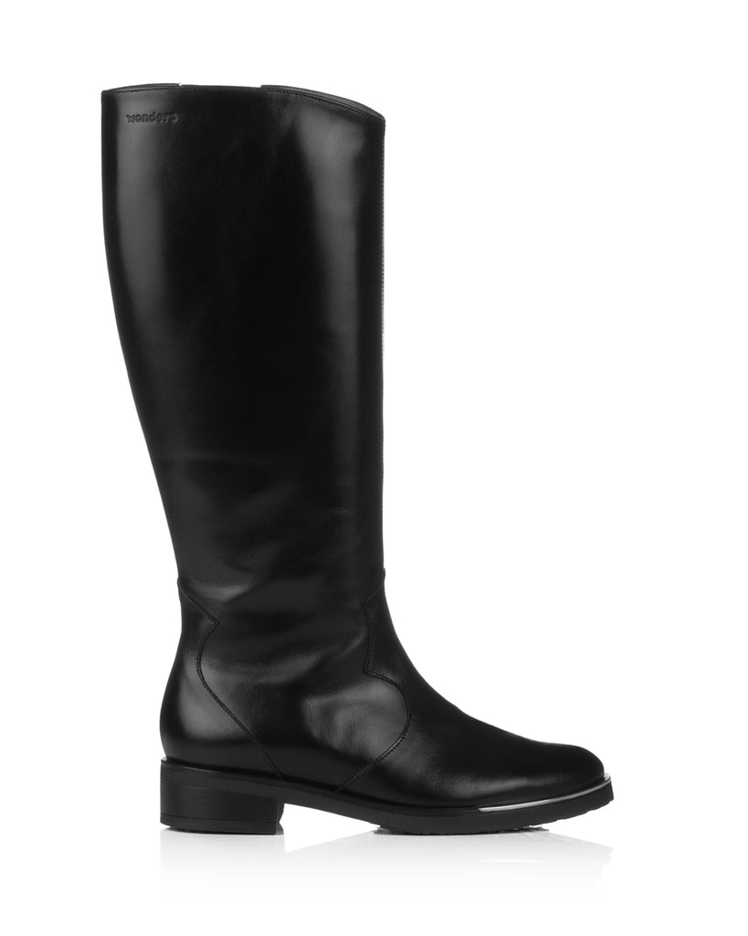 Oregon C5432 Black Leather Riding Boots