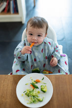 Load image into Gallery viewer, Tidy tot Cover and Catch food smock bib Australian stockist