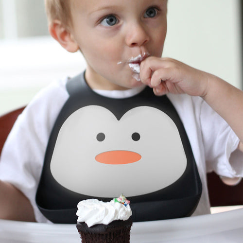 Make My Day Baby and Toddler Silicone Food Bibs