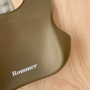 Rommer Co Silicone Catcher Bibs