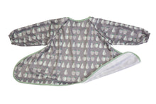 grey food smock bib