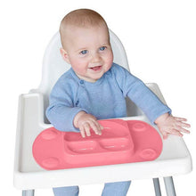 Mini EasyMat Suction Plate and Placemat for highchair and travel