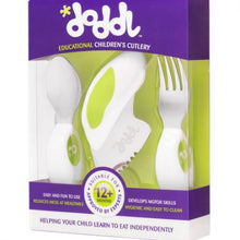 Doddl 3 Piece Toddler Cutlery Set (Spoon, Fork and Knife) for Children - three colours