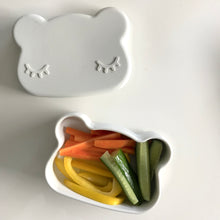 Load image into Gallery viewer, Bear Snackies: 2-in-1 Bowl and plate
