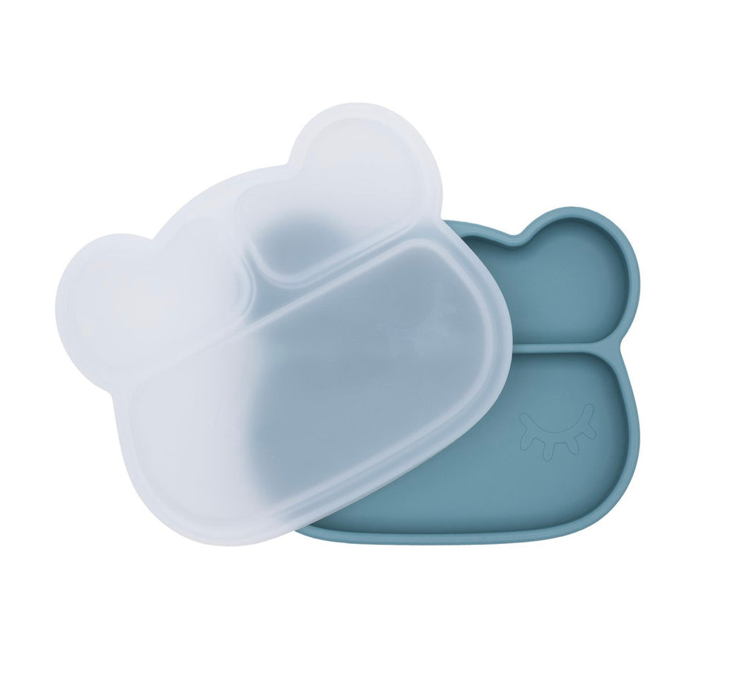 suction plate divider plate kids best cute silicone microwave melbourne australia we might be tiny stockist