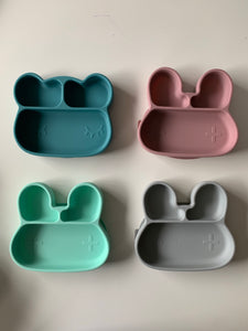 Stickie Plates (Divided divider sticky suction plates for highchairs and tables for babies toddlers and children)